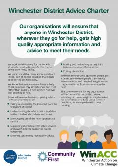 Winchester District Advice Charter