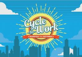 Cycle to Work Day poster